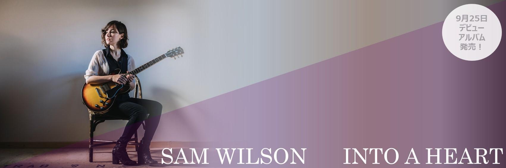 イントゥ・ア・ハート ~ギターと私 / サム・ウィルソン
